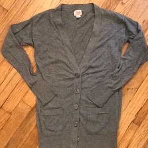 Ladies Mossimo supply co. button up sweater